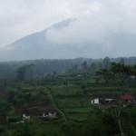 Die Landschaft in Zentralbali