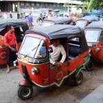 Bajaj, die indonesische Variante vom Tuktuk
