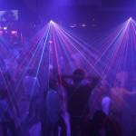 Lasershow im Zouk